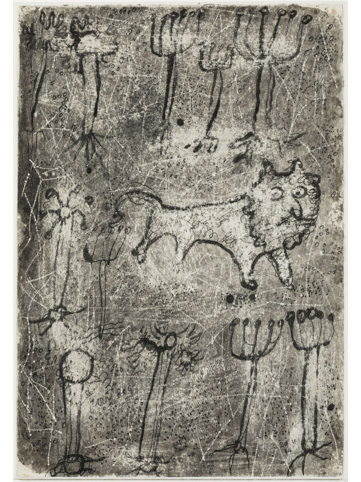 Jean_Dubuffet_Lion_dans_la_jungle
