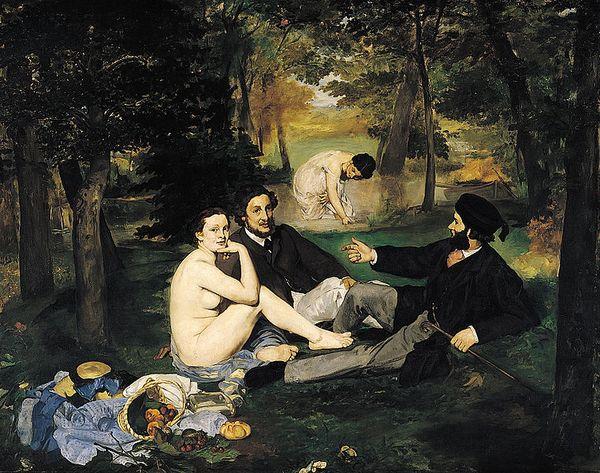 1862-63-Manet-Dejeuner sur l'herbe