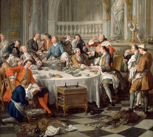 Déjeuner d'huîtres de Jean-François de Troy