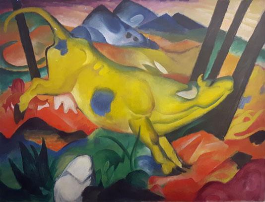 Frantz-Marc--Vache-jaune--1