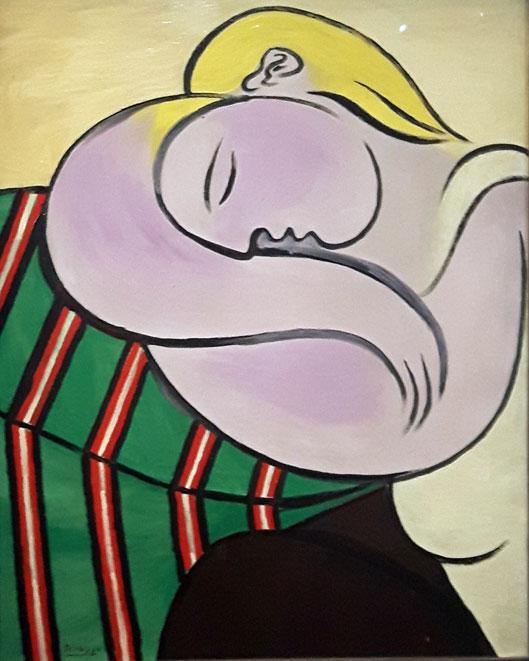 Pablo-Picasso---Femme-auc-c