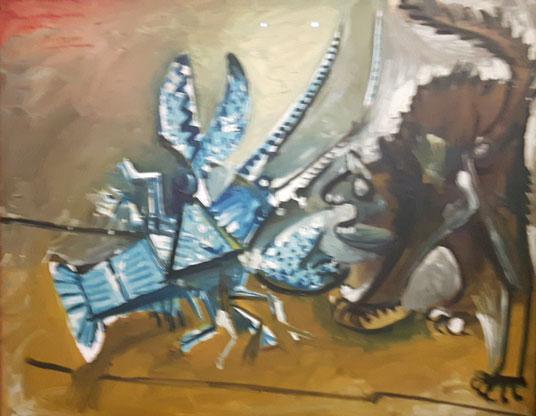 Pablo-Picasso---Le-homard-e